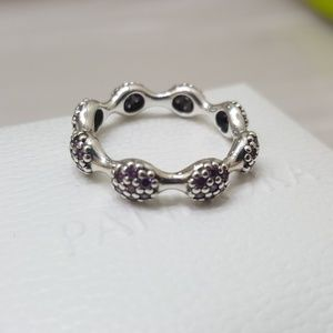 PANDORA Modern Love Pods Purple Ring RETIRED 😊 ❤️